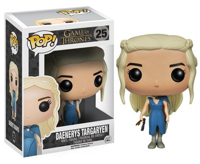 Funko POP! Television Game of Thrones 25 Daenerys Targaryen Blauwe japon
