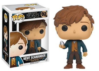 Funko POP! Movies Fantastic Beasts and were to find them 02 Newt Scamander met ei