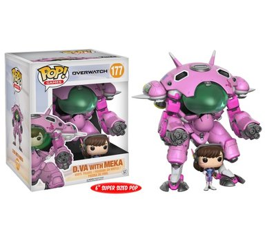 Funko POP! Games Overwatch 177 D.Va met Meka