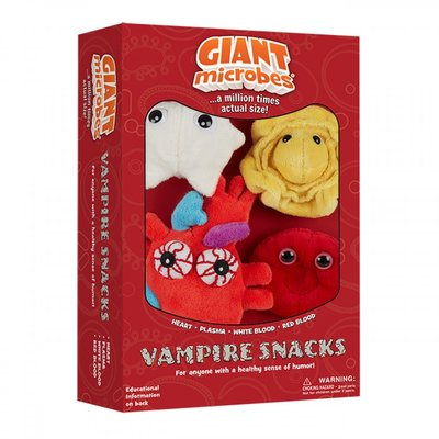 Giant Microbes Theme Box Vampire Snacks
