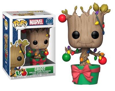 Funko POP! Vinyl Marvel 399 kerst Groot als kerstboom