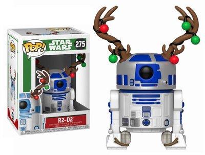 Funko POP! Vinyl Star Wars 275 kerst R2-D2 met rendier gewei
