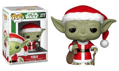 Funko POP! Vinyl Star Wars 277 Xmas Yoda as Santa