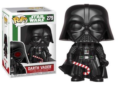 Funko POP! Vinyl Star Wars 279 kerst Darth Vader met zuurstok