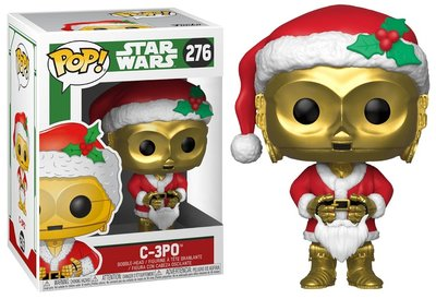 Funko POP! Vinyl Star Wars 276 Xmas C-3PO as Santa