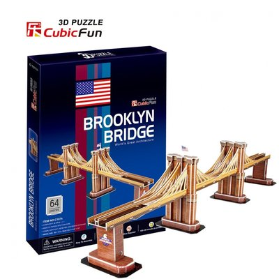 3D Puzzel: Brooklyn Bridge (Cubic Fun)