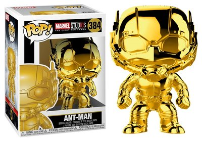 Funko POP! Vinyl Marvel MCU The First 10 Years 384 Chrome Ant-Man