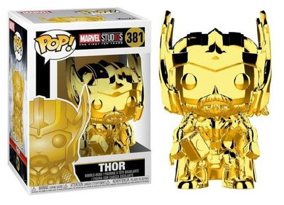 Funko POP! Vinyl Marvel MCU The First 10 Years 381 Chrome Thor