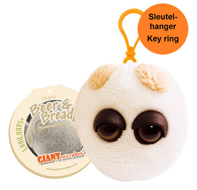 Giant Microbes Sleutelhanger Beer and Bread (Gist)
