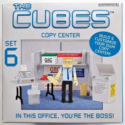 Cubes Set 6 Copy Center (kopieer centrum)