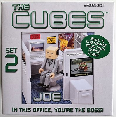 Cubes Set 2 Joe