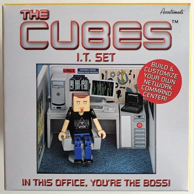 Cubes Set IT Center set