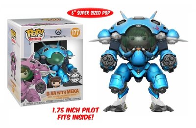 Funko Pop! Vinyl figuur - Games Overwatch 177 D.Va with Meka Special Edition