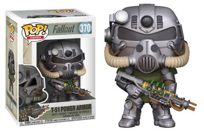 Funko Pop! Vinyl figuur - Games Fallout 370 T-51 Power Armor