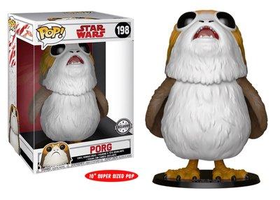 Funko Pop! Vinyl figuur - Star Wars The Last Jedi 198 Porg 10 inch Exclusive