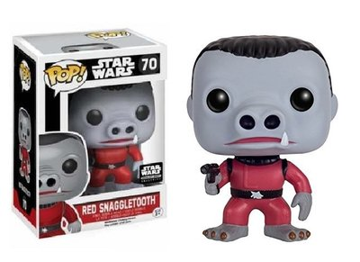 Funko Pop! Vinyl figuur - Star Wars A New Hope 70 Red Snaggletooth