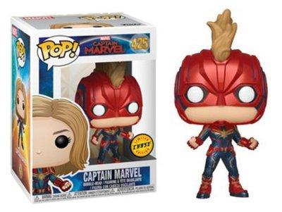Funko Pop! Vinyl figuur - Marvel Captain Marvel 425 Captain Marvel Chase