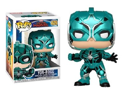 Funko Pop! Vinyl figuur - Marvel Captain Marvel 429 Yon-Rogg Star Commander