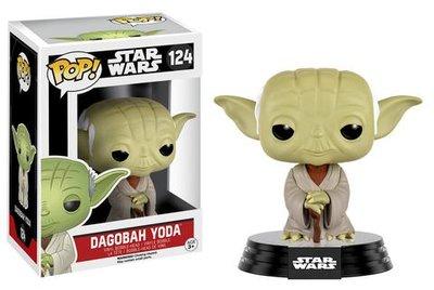 Funko Pop! Vinyl figuur - Star Wars The Empire Strikes Back 124 Yoda Dagobah