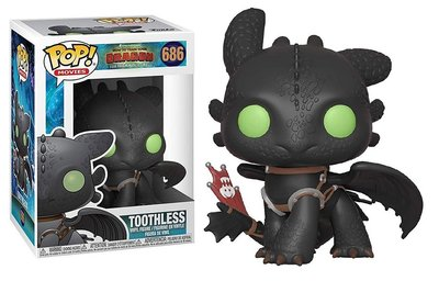 Funko Pop! Vinyl figuur - Animatie How to Train your Dragon 686 Toothless