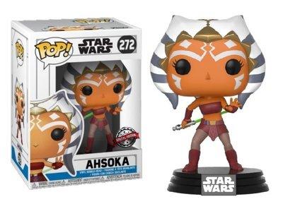 Funko Pop! Vinyl Figure - Star Wars The Clone Wars 272 Ahsoka Special Edition