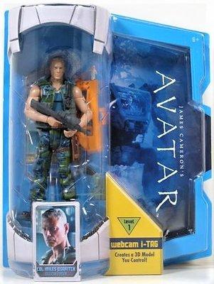 Avatar: Colonel Miles Quaritch actiefiguur (6 inch Movie Masters)