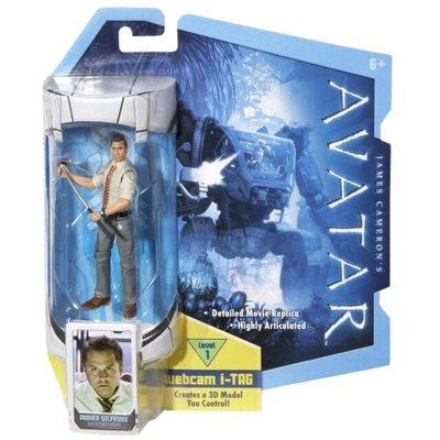 Avatar: Parker Selfridge actiefiguur