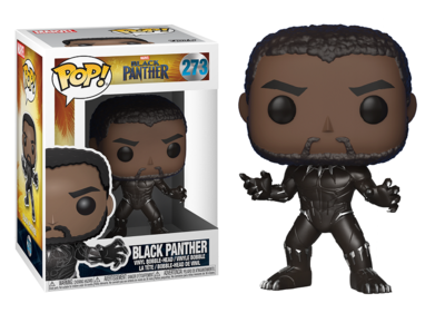 Funko Pop! Vinyl figuur - Marvel Black Panther 273 Black Panther