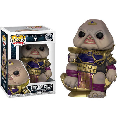 Funko Pop! Vinyl figuur - Games Destiny 344 Emperor Calus Limited Edition