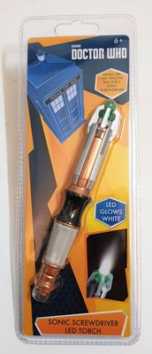 Doctor Who 11th Doctor Sonic Screwdriver zaklamp