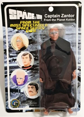 Figures Toy Company actiefiguur - Scifi Space 1999 Captain Zantor