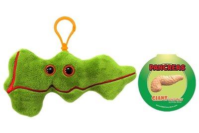 Giant Microbes sleutelhanger - Wetenschap biologie alvleesklier