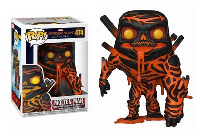 Funko Pop! Vinyl figuur - Marvel Spider-man Far From Home 474 Molten Man