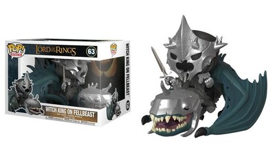 Funko Pop! Vinyl figuur - Fantasy Lord of the Rings 63 Witch King on Fellbeast
