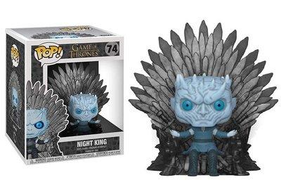 Funko Pop! Vinyl figuur - Fantasy Game of Thrones 74 Night King on Iron Throne