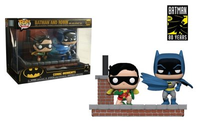 Funko Pop! Vinyl figuur - DC Batman Movie Moments 281 Batman en Robin 80 Years