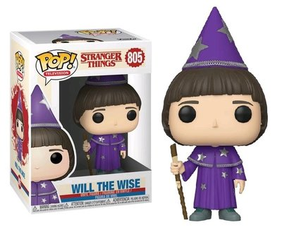Funko Pop! Vinyl figuur - Fantasy Stranger Things 805 Will (the Wise)