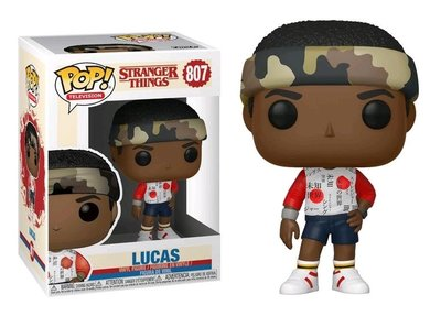 Funko Pop! Vinyl figuur - Fantasy Stranger Things 807 Lucas (in Mall Outfit)