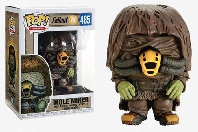 Funko Pop! Vinyl figuur - Games Fallout 76 485 Mole Miner