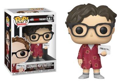 Funko Pop! Vinyl figuur - Comedy The Big Bang Theory 778 Leonard Hofstadter in Robe