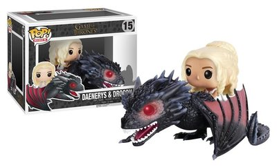 Funko Pop! Vinyl figuur - Fantasy Game of Thrones 15 Daenerys Targaryen with Drogon