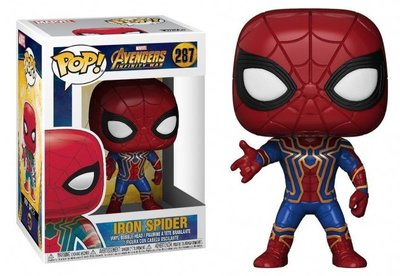 Funko Pop! Vinyl figuur - Marvel Avengers Infinity War 287 Iron Spider