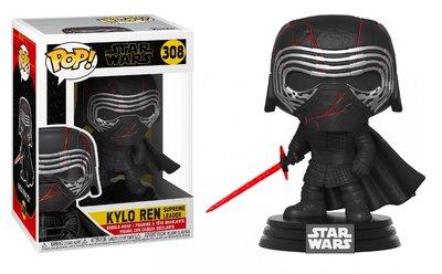 Funko Pop! Vinyl figuur - Star Wars The Rise of Skywalker 308 Kylo Ren Supreme Leader