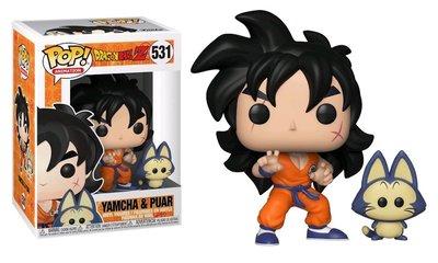 Funko Pop! Vinyl figuur - Animatie Dragon Ball Z 531 Yamcha and Puar