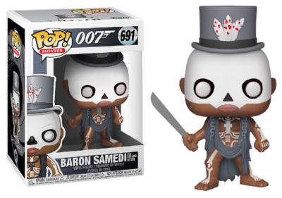 Funko Pop! Vinyl figuur - Actie James Bond 007 from Live and Let Die 691 Baron Samedi