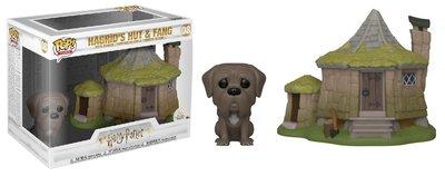 Funko Pop! Vinyl figuur - Fantasy Harry Potter 8 Hagrid's Hut and Fang