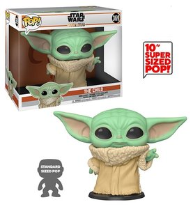 Funko Pop! Vinyl Figure - Star Wars The Mandalorian 10 inch 369 The Child Baby Yoda