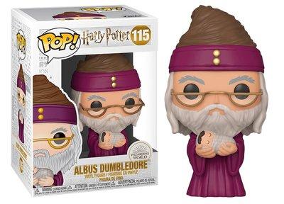 Funko Pop! Vinyl Figure - Fantasy Harry Potter 115 Dumbledore with Baby Harry