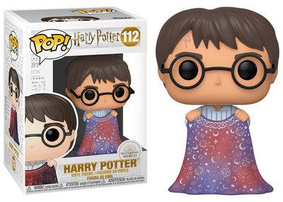 Funko Pop! Vinyl Figure - Fantasy Harry Potter 112 Harry with Invisibility Cloak