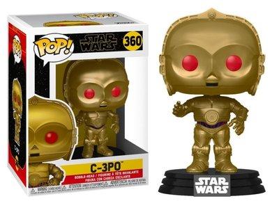 Funko Pop! Vinyl Figure - Star Wars The Rise of Skywalker 360 C-3PO Red Eyes